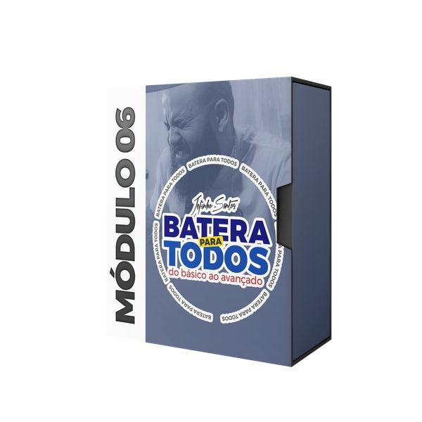 Imagem principal do produto CURSO BATERIA PARA TODOS - MÓDULO 06 - JEFINHO SANTOS