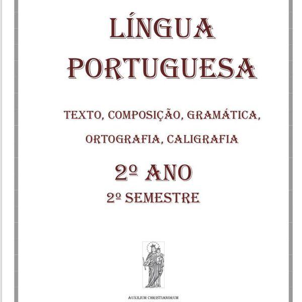 Imagem principal do produto Língua Portuguesa - 2o ano - 2o semestre