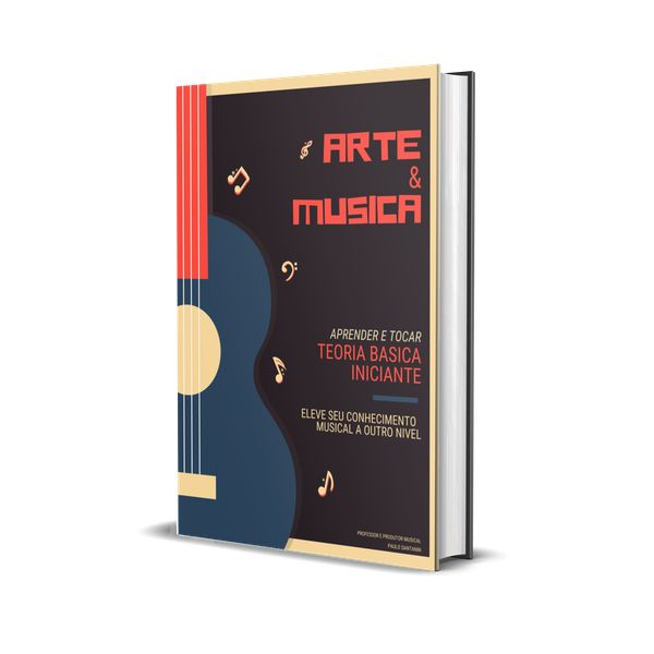Imagem principal do produto Teoria Musical para Iniciantes + Bonus Exclusico