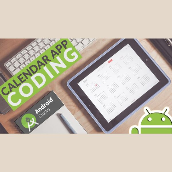 Imagem principal do produto Calendar App Coding in Android Studio