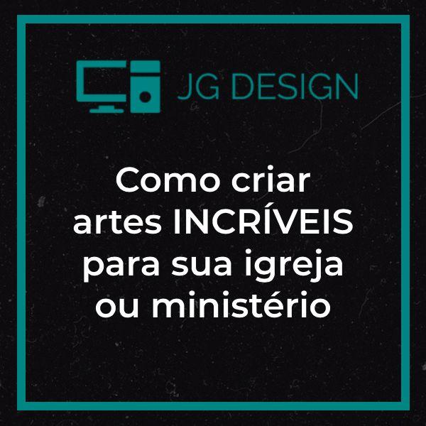 Imagem principal do produto Como criar artes INCRÍVEIS para sua igreja  ou ministério