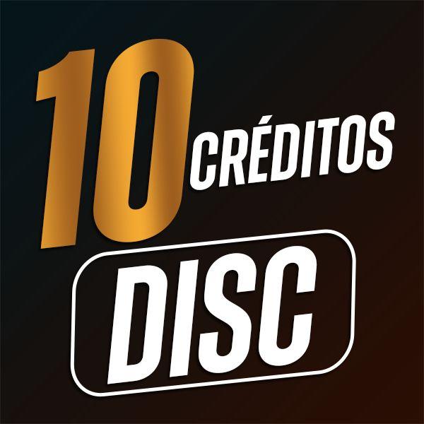 Imagem principal do produto 10 Créditos DISC