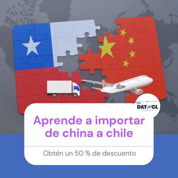 Imagem principal do produto Curso de importación de China 🇨🇳 a Chile 🇨🇱
