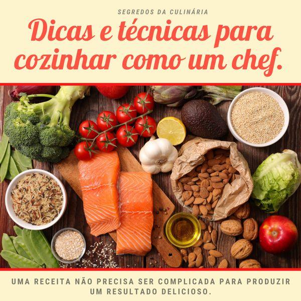 Imagem principal do produto Dicas e técnicas para cozinhar como um Chef