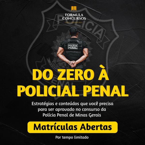 Imagem principal do produto Do Zero à Policial Penal [DZAPP]
