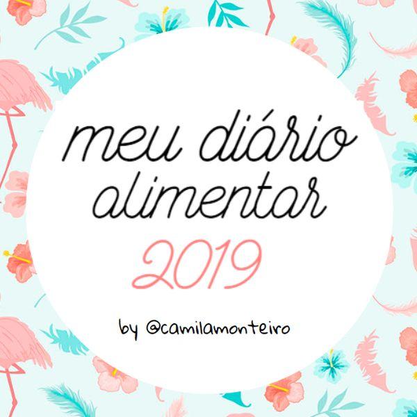 Imagem principal do produto Meu Diário Alimentar By Camila Monteiro - Bônus