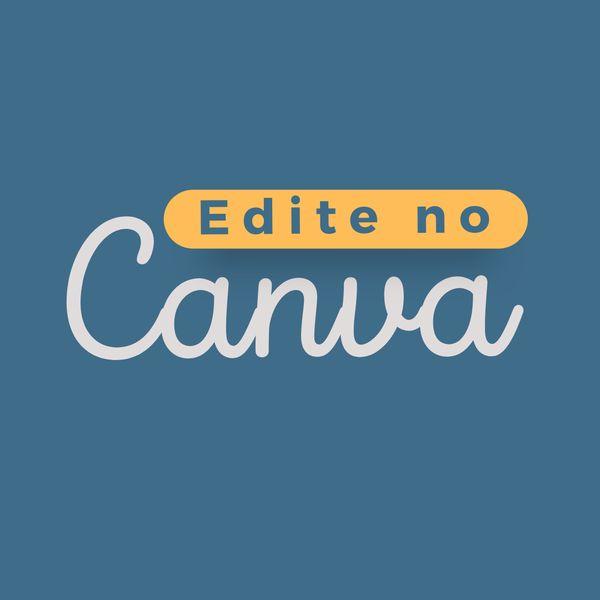 Imagem principal do produto Edite no Canva