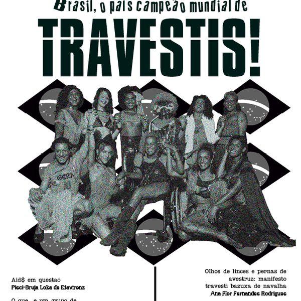 Imagem principal do produto Jornal Travesti VIVA! 1ª edição