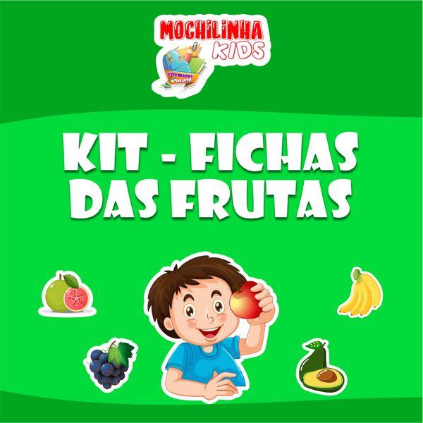 Imagem principal do produto Kit - Fichas das Frutas