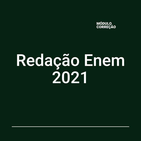 Imagem principal do produto ENEM 2021 - PACOTE DE REDAÇÃO -