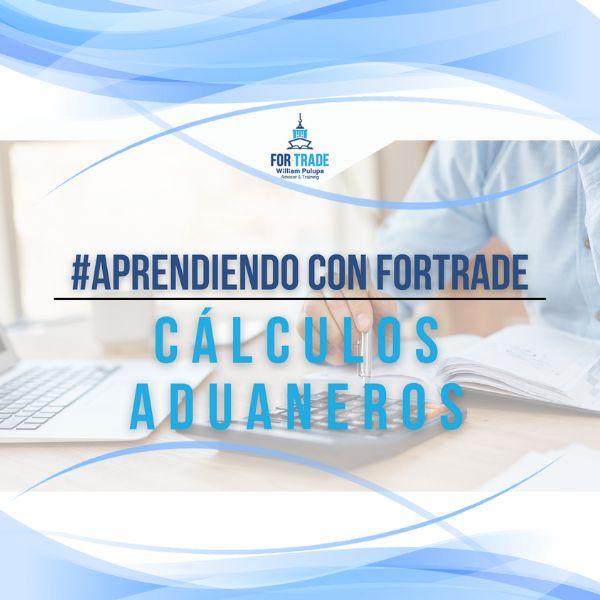 Imagem principal do produto #AprendiendoConFortrade | Cálculos Aduaneros