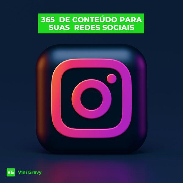 Imagem principal do produto 365 IDEIAS DE CONTEÚDO PARA SUAS  REDES SOCIAIS