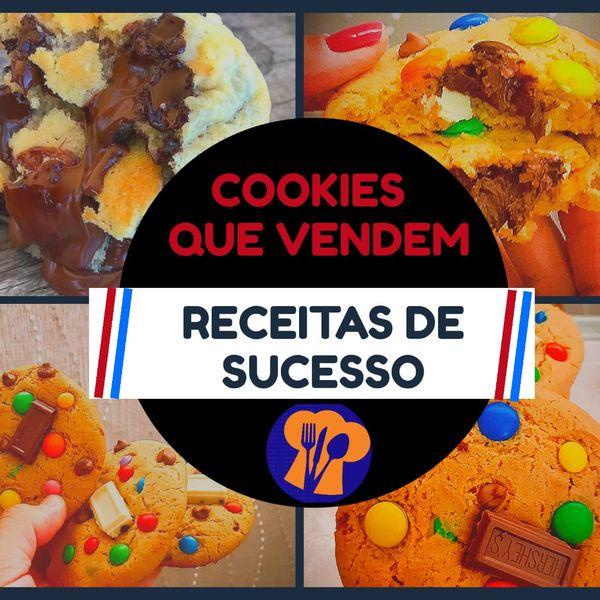 Imagem principal do produto Cookies que vendem - Receitas de sucesso