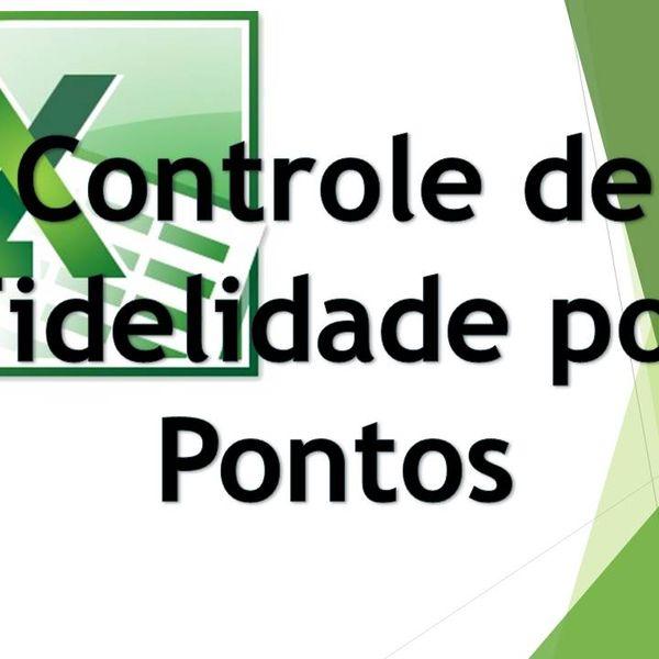 Imagem principal do produto Cartão Fidelidade De Clientes Por Pontos - Planilha Avançada