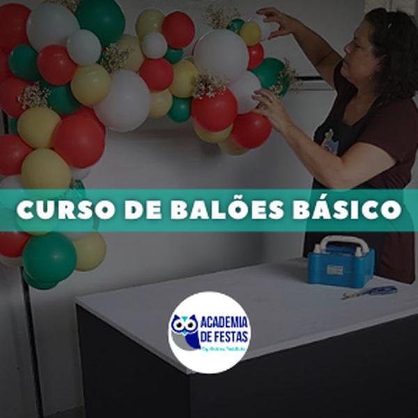 Imagem principal do produto CURSO DE BALÕES BÁSICO
