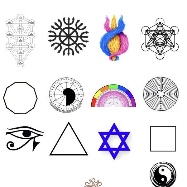 Imagem principal do produto Curso Símbolos Geometria Sagrada