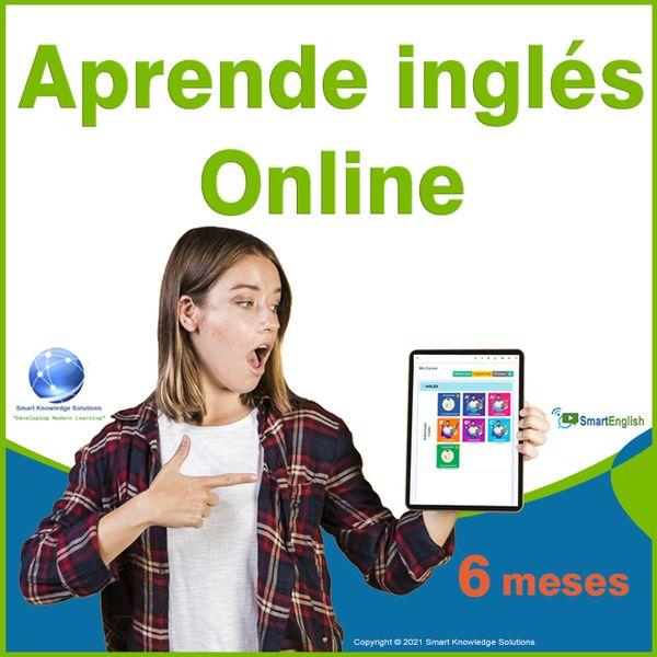 Imagem principal do produto Curso de inglés online programa completo autoestudio – Suscripción 6 meses incluye libro y certificado