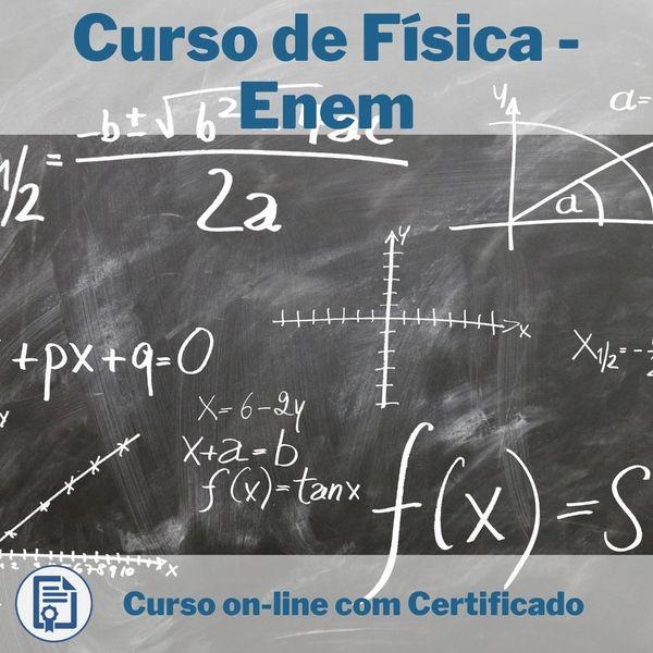 Imagem principal do produto Curso de Física - Enem