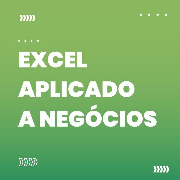 Imagem principal do produto Excel Aplicado a Negócios