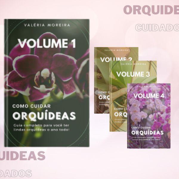 Imagem principal do produto Guia Completo sobre Cuidados e Cultivo de Orquídeas