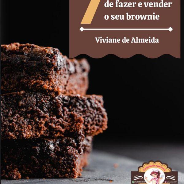 Imagem principal do produto 7 maneiras de fazer e vender o seu brownie