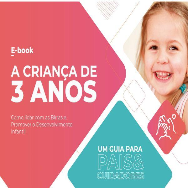 Imagem principal do produto A Criança de 3 Anos - Um Guia Para Pais e Cuidadores.