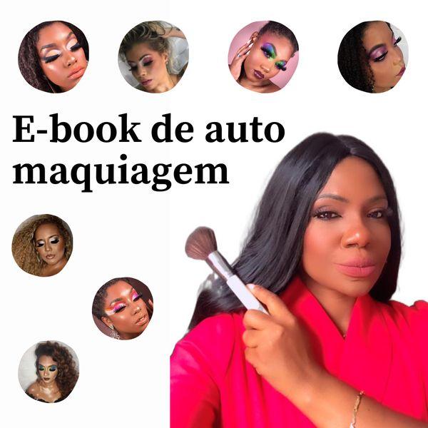 Imagem principal do produto E-book de auto maquiagem por Sandra Rodrigues