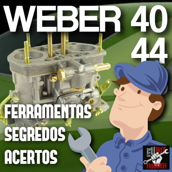 Imagem principal do produto Acertando o carburador Weber IDF