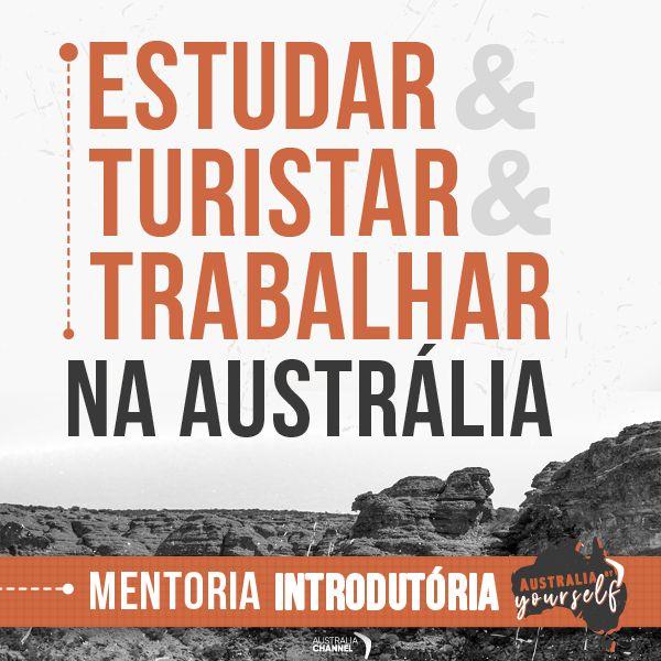 Imagem principal do produto Estudar, Turistar & Trabalhar na Australia
