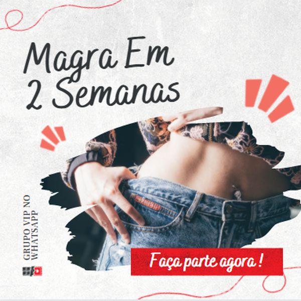 Imagem principal do produto Magra em 2 Semanas