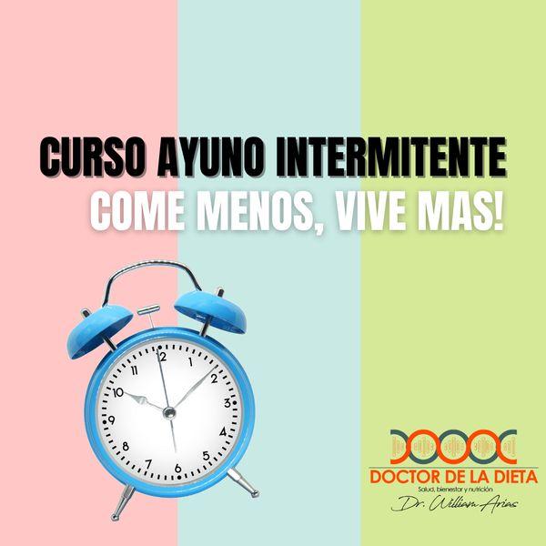 Imagem principal do produto AYUNO INTERMITENTE: COME MENOS Y VIVE MAS!