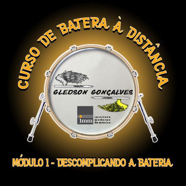Imagem principal do produto CURSO DE BATERA À DISTÂNCIA - MÓDULO 1 - DESCOMPLICANDO A BATERIA