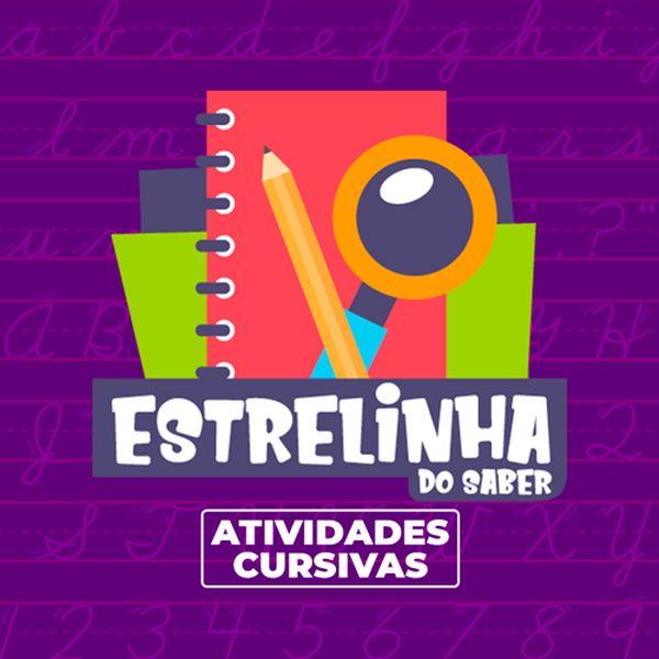 Imagem principal do produto Estrelinha do Saber - Atividades Cursivas