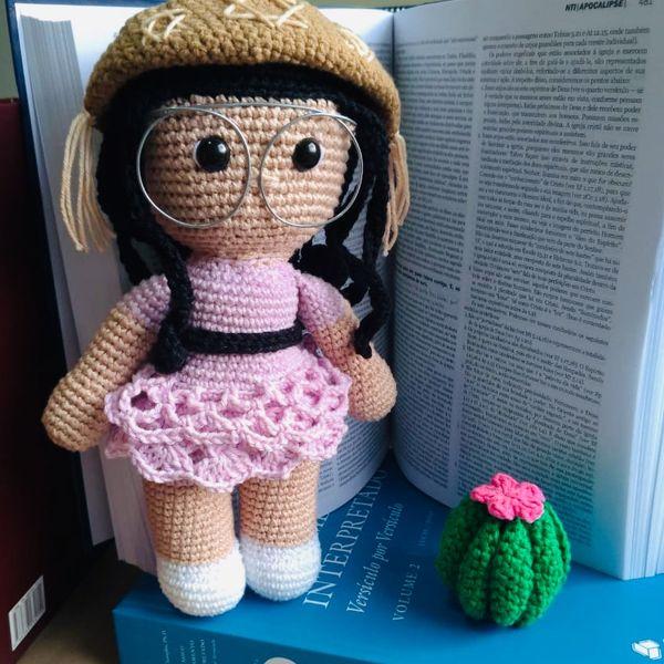 Imagem principal do produto Boneca Juliette em amigirumi
