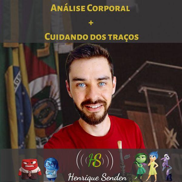 Imagem principal do produto Análise corporal + Cuidando dos traços - Henrique Senden