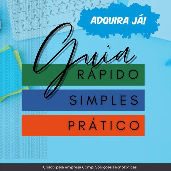 Imagem principal do produto Guia rápido, simples e prático Excel, PowerPoint e Word com Bônus de dicas para Empreender