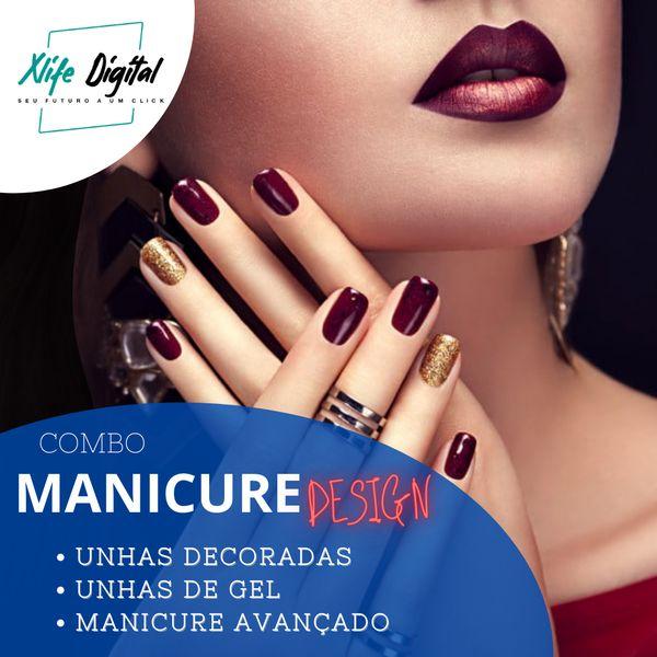 Imagem principal do produto Manicure Design - COMBO