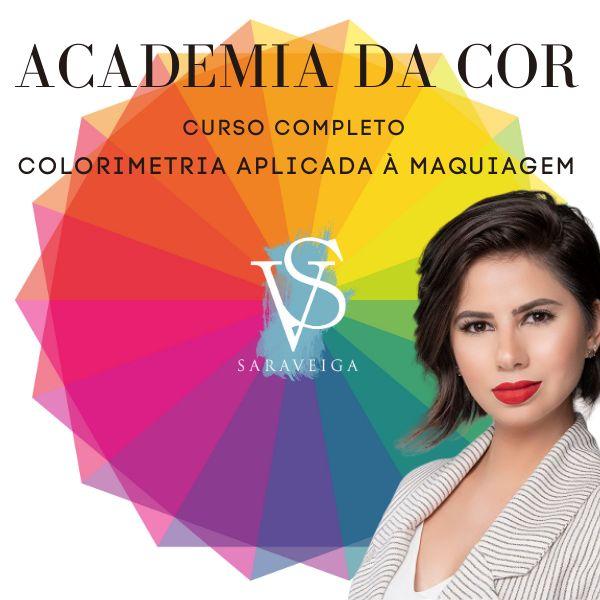 Imagem principal do produto Academia da Cor - Colorimetria na Maquiagem T1