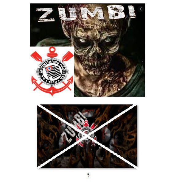Imagem principal do produto Corinthians zumbi foto para estampar camisetas 5