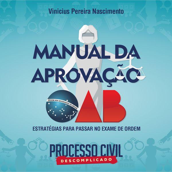 Imagem principal do produto Manual da Aprovação na OAB