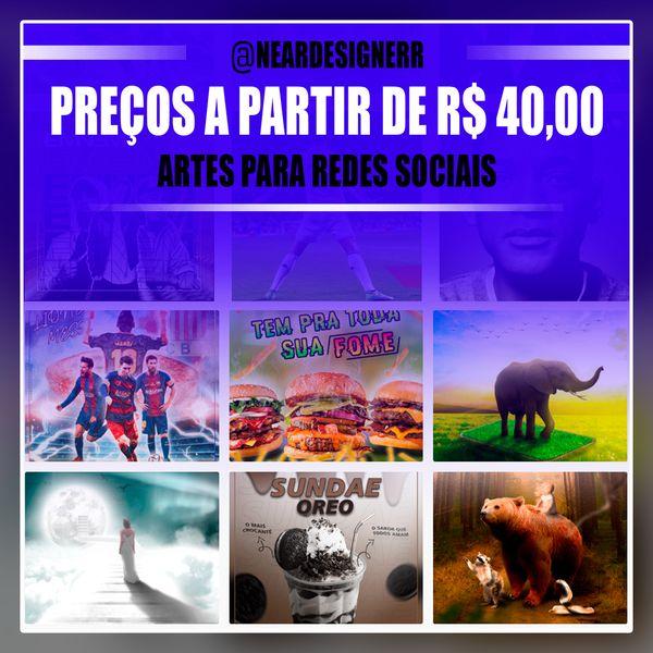 Imagem principal do produto ARTES DE QUALIDADE E BARATA PARA REDES SOCIAIS