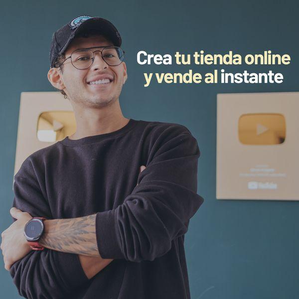 Imagem principal do produto Aprende a crear tu tienda en linea y vender al instante