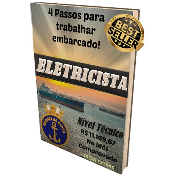 Imagem principal do produto 4 Passos Para Embarcar como Eletricista Marítimo.