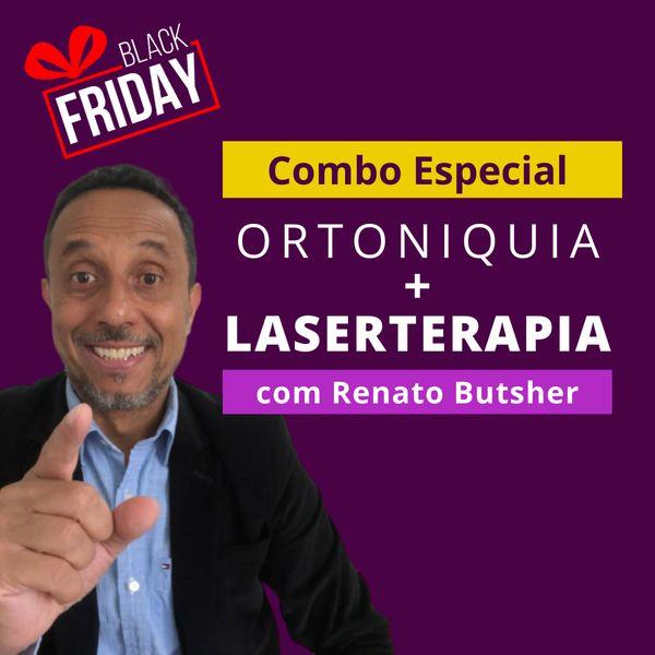Imagem principal do produto Combo Master Ortoniquia + Imersão Laserterapia