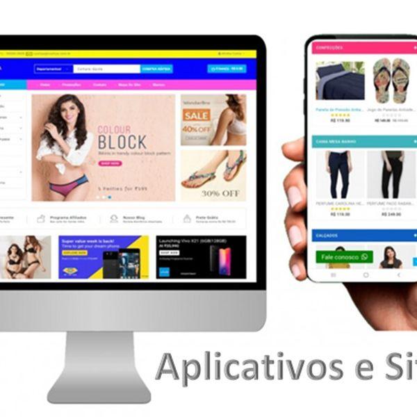 Imagem principal do produto Assinatura Diamante  Licença App Android, IOS e SaaS Site e Software Cashback