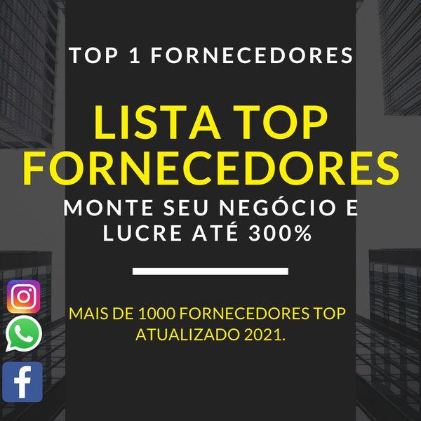 Imagem principal do produto LISTA TOP 1 FORNECEDORES 2021