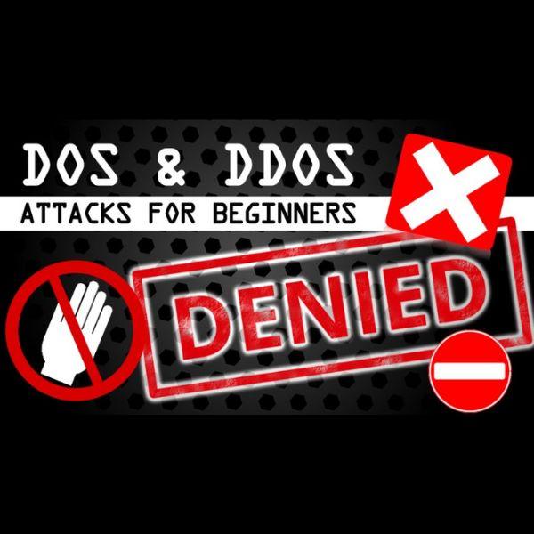 Imagem principal do produto Denial of Service DOS & Distributed Denial of Service DDOS Attacks