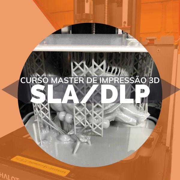 Imagem principal do produto Curso Master de Impressão 3D SLA/DLP