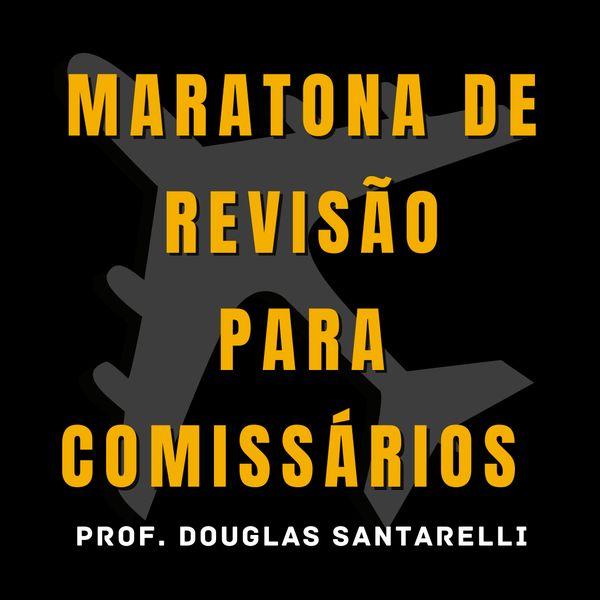 Imagem principal do produto Maratona ANAC - Revisão para Comissários