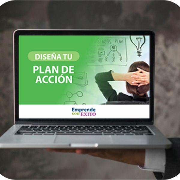 Imagem principal do produto Diseña tu Plan de Acción - Guía instantánea para crear el tuyo